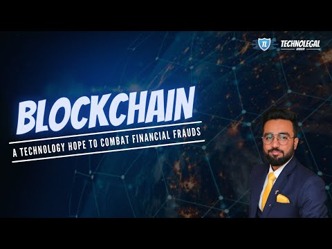 BLOCKCHAIN   A TECHNOLOGY HOPE TO COMBAT FINANCIAL FRAUDS   EXPLANATION   HINDI
