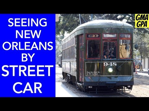 We Saw The Sights Of New Orleans By Streetcar: French Quarter, Garden District, Bourbon Street NOLA