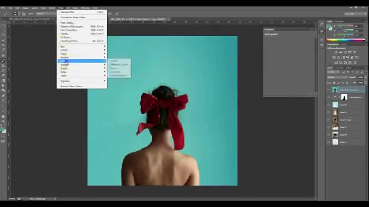 photoshop cs6 tutorial background color change simple expansion