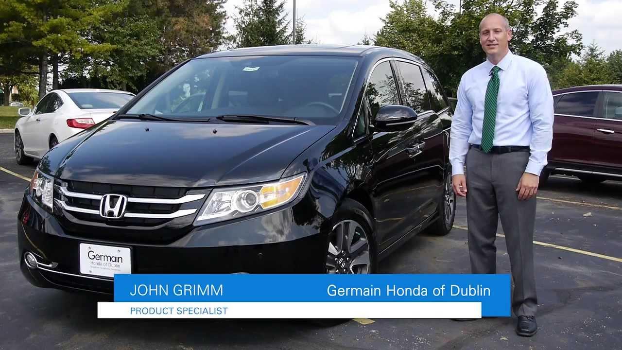 2014 Honda Odyssey Review At Germain Honda Of Dublin