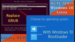 Video Replace GRUB with Windows 10 Bootloader on Dualboot download MP3, 3GP, MP4, WEBM, AVI, FLV September 2018