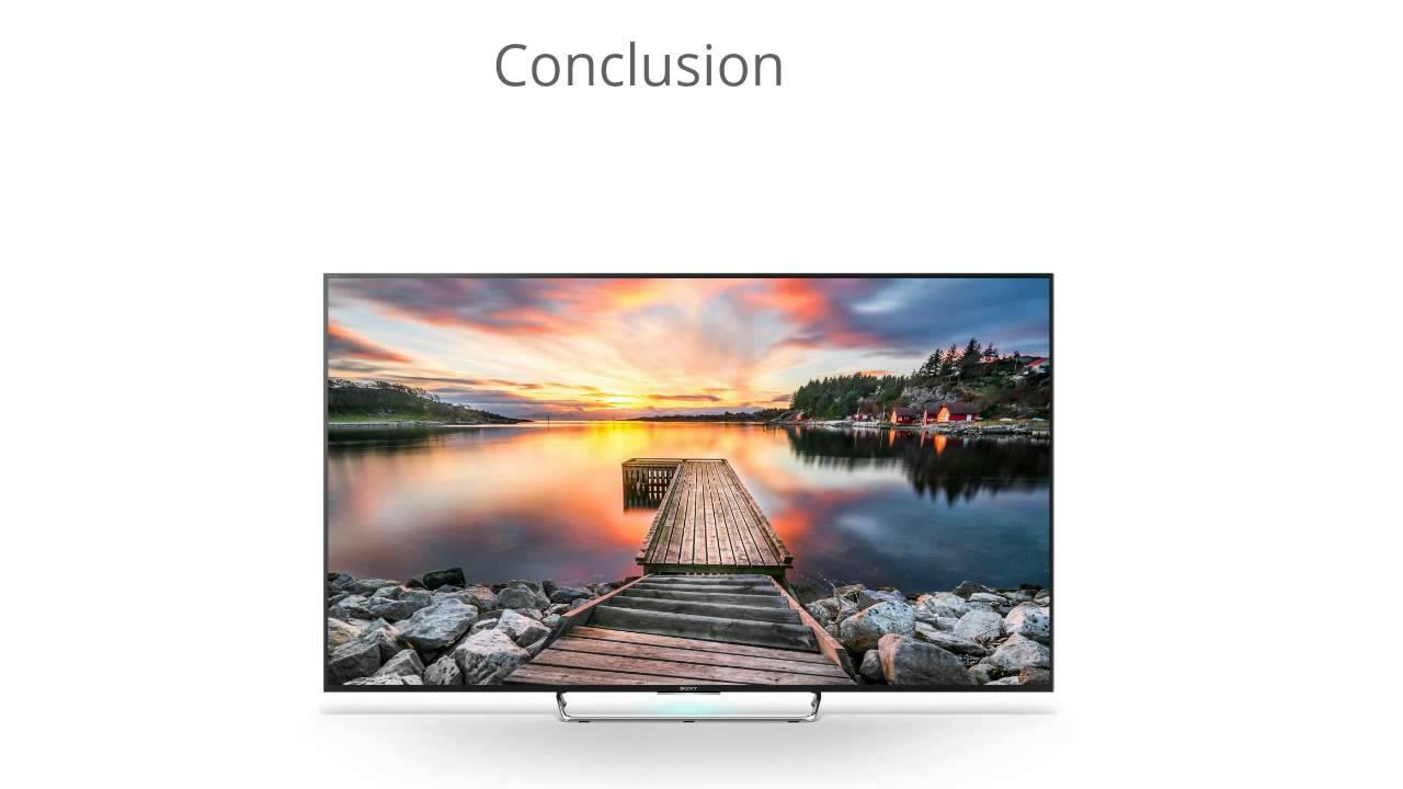 Sony BRAVIA KDL-65W850C HDTV Linux