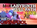 Labyrinth of Legends with Gwenpool - Full Path | Marvel Contest of Champions Live Stream