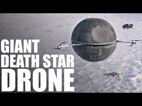 Giant RC DEATH STAR Drone | STAR WARS