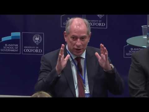Participação de Ciro Gomes no Brazil Forum UK em Oxford (14/05/2017)