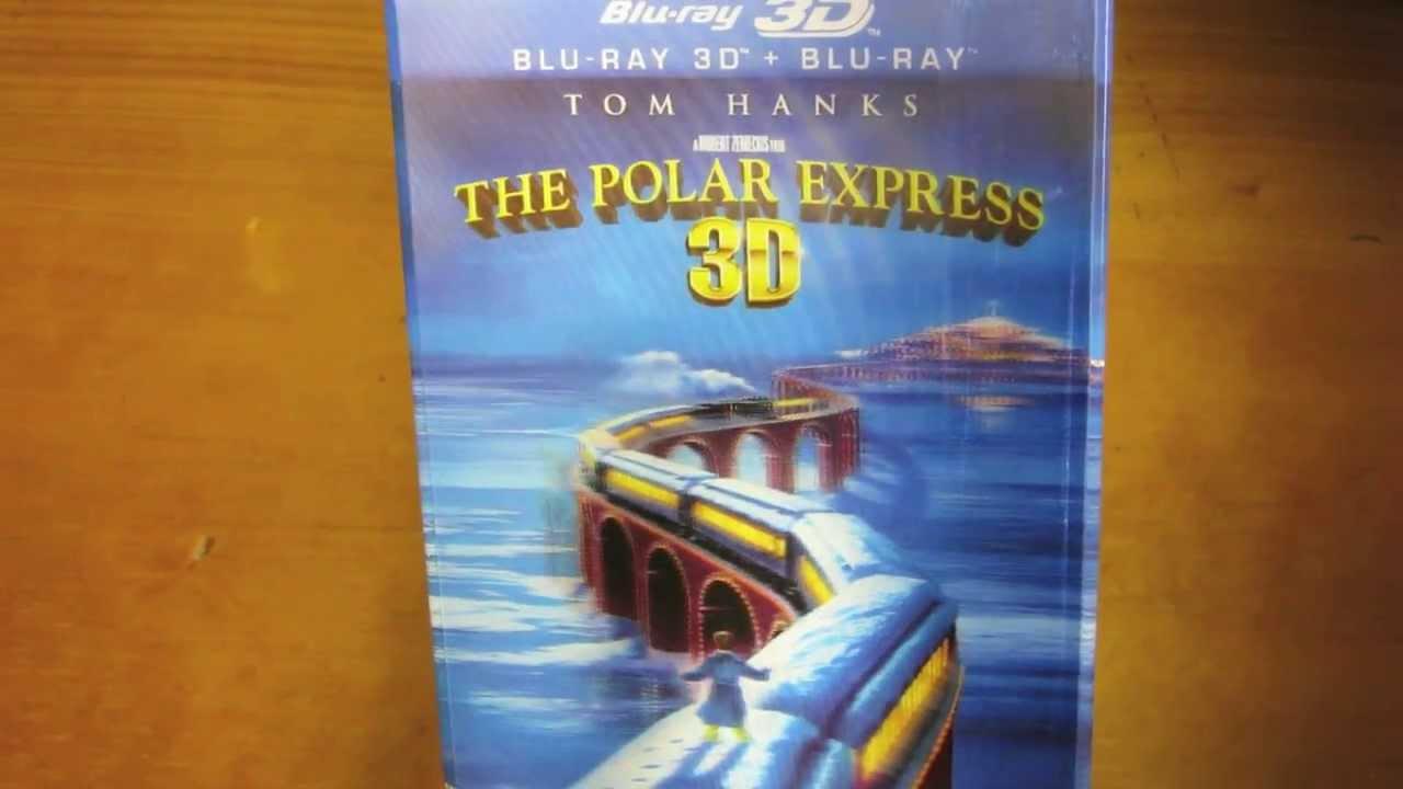 polar express 3d blu ray