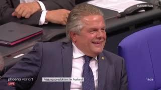 AfD vs. Die Linke zur deutschen Rüstungsproduktion im Ausland - Bundestagsdebatte (27.9.2018)