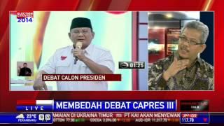Dialog: Membedah Debat Capres #5