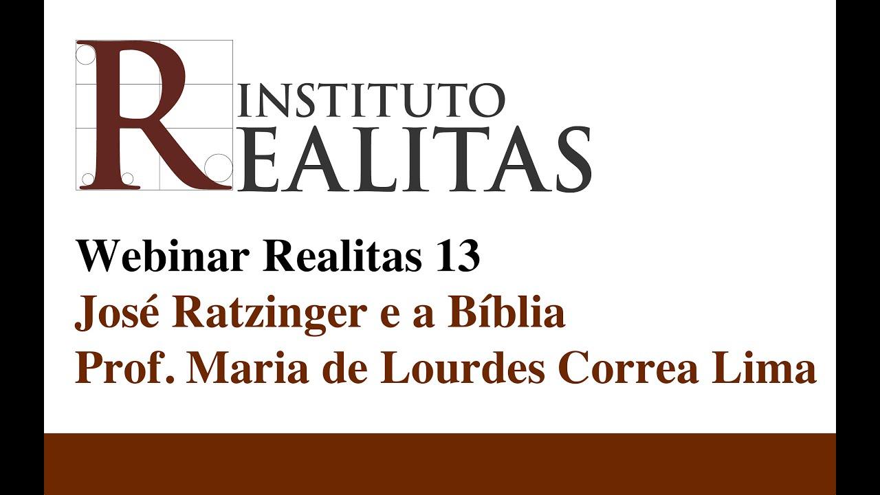 Maria de Lourdes Correa Lima fala sobre Josef Ratzinger