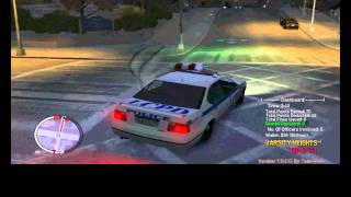 GTA 4 TBOGT police pursuit mod