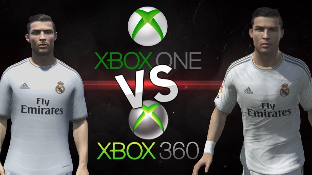FIFA 14 | Face Comparison XBOX ONE vs XBOX 360 Real Madrid