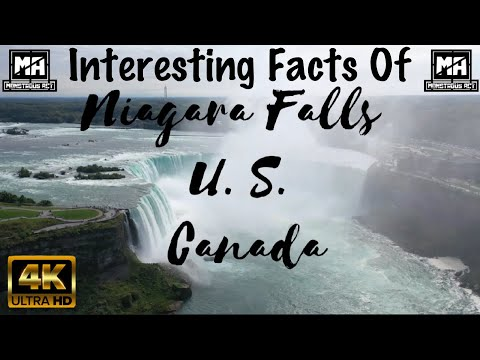 4K | Niagara Falls Trip | Interesting Facts Of Niagara Falls | Tourists Attraction | Monstrous Act