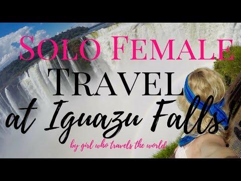 Solo Female Travel at Iguazu Falls!