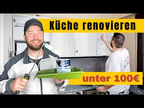 Küche LACKIEREN I Ohne viel Schnickschnack 🤩 - YouTube