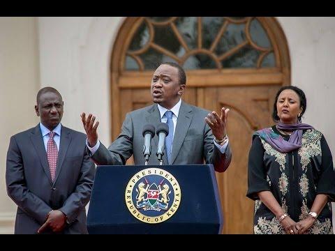 Full video of President Kenyatta on  US President Barack Obama's visit