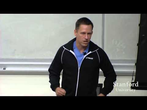 Lecture 5 Business Strategy and Monopoly Theory – Peter Thiel