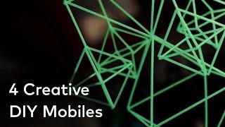 4 Creative DIY Mobiles
