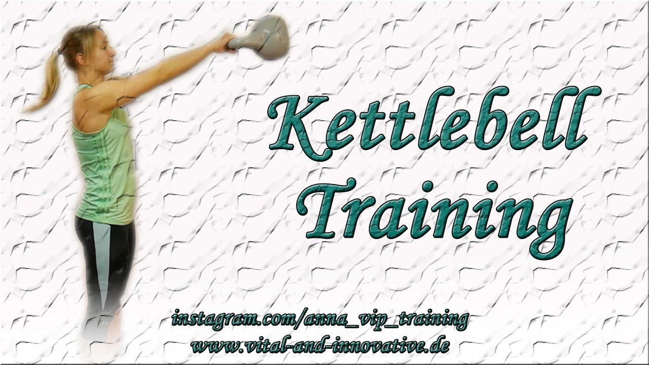 kettlebell bungen f r zuhause ganzk rpertraining muskelaufbau cardio training youtube