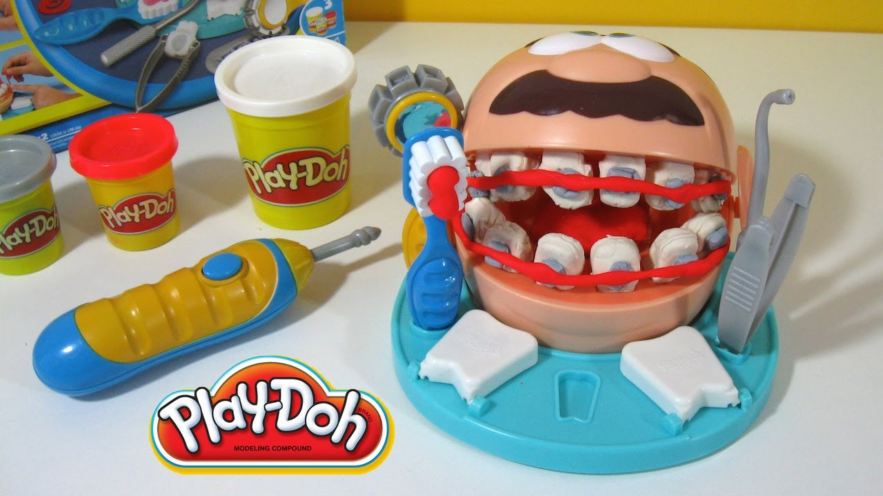 Play Doh Dentista Toys Onthego Dentist Doctor Drill N Fill