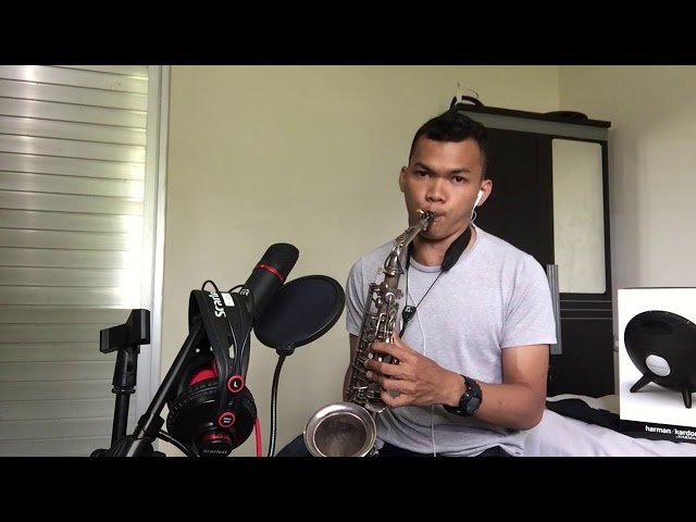 Nothing gonna change short cover saxophone