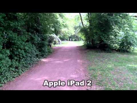 Samsung Galaxy Tab 10.1v vs. Apple iPad 2 Camera Test