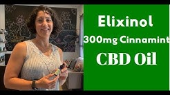 Elixinol 300 mg Cinnamint CBD Oil Review, Why Can't More CBD Products come in Cinnamon Flavor?