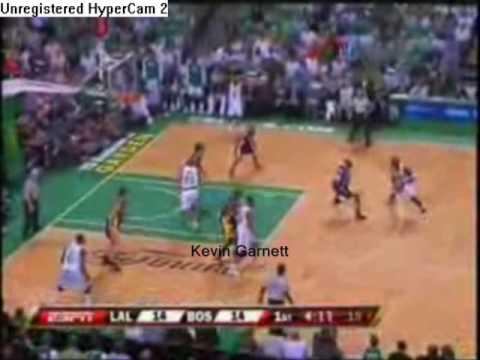 Kevin Garnett, Ray Allen, and Paul Pierce 2007-2008 Boston Celtics Mix