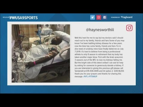 Former Patriots Lineman Albert Haynesworth Needs Kidney Transplant