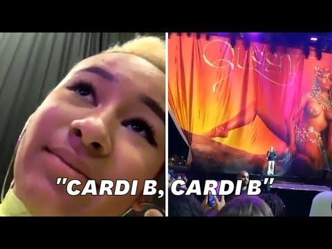 """Nicki Minaj à Bordeaux: déçus de l'annulation du concert, des fans ont scandé """"Cardi B"""""""