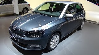 2018 Skoda Fabia Ultimate Clever 1.0 TSI 95 - Exterior and Interior - Auto Show Brussels 2018