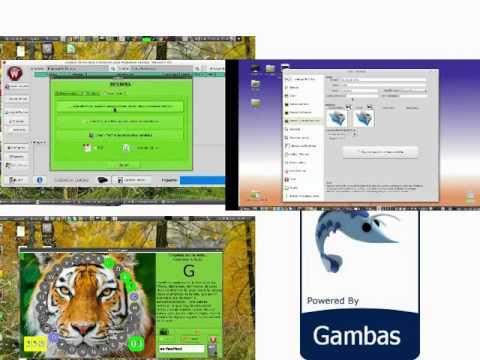 Gambas3: Power Gnu/Linux + Easy Basic OOP