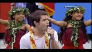 Download Kris Allen National Anthem Hawaii Bowl MP3 song and Music Video