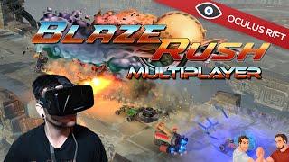 BlazeRush Gameplay - Oculus Rift Multiplayer