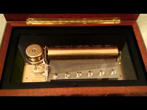 Reuge 72 Note Musical Box - Unchained Melody