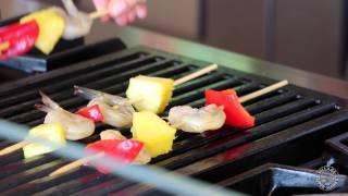 Grilled Teriyaki Shrimp Kabobs