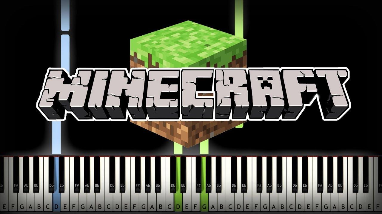 Minecraft FULL SOUNDTRACK Piano Tutorial (Sheet Music + midi)