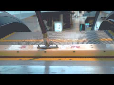 REN escalator cleaning tools