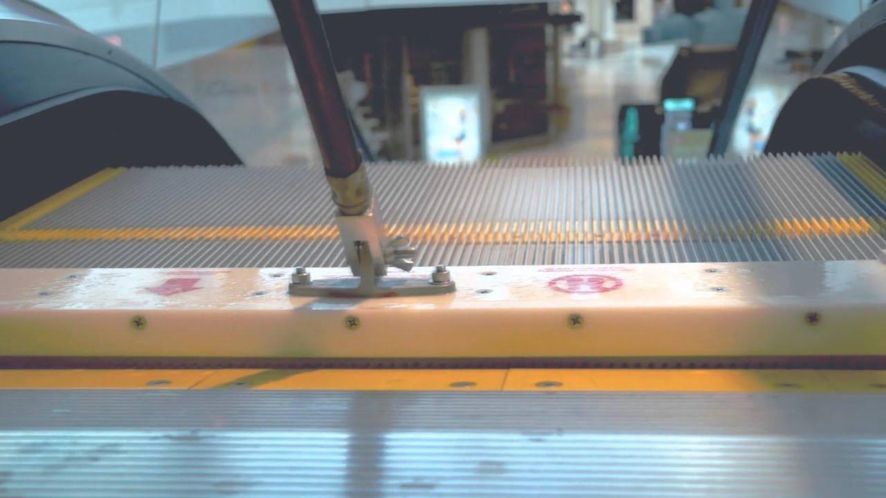 Ren Escalator Cleaning Tools Youtube