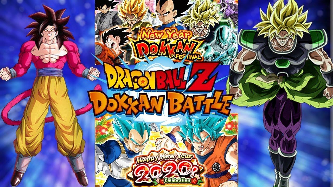¡AÑO NUEVO SUERTE NUEVA! ¡LR GARANTIZADO! - Dragon Ball Z Dokkan Battle