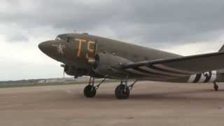Flying on World War Two C-47 Aircraft