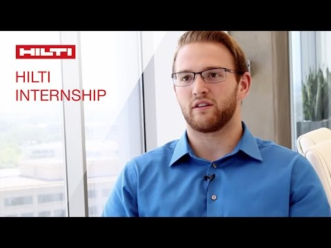 LEARN about our Hilti Internship opportunities in our Project Management Office - Morgan