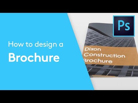 How To Design A Brochure or Booklet In Photoshop | Design Tutorial thumbnail