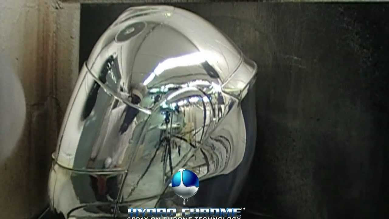 spray on chrome uk silver nitrate system - YouTube