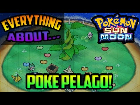 EVERYTHING You Need To Know About POKE PELAGO - Pokemon Sun And Moon Guide & Gameplay