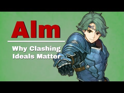 Alm: Clashing Ideals In Fire Emblem Echoes: Shadows of Valentia
