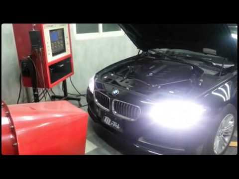 m-tek ecu power kit on bmw f10 520d dyno test perfect power - youtube