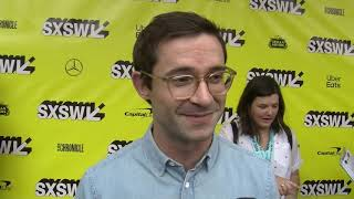 Riley Stearns On The Red Carpet For The New Film THE ART OF SELF DEFENSE At SXSW 2019