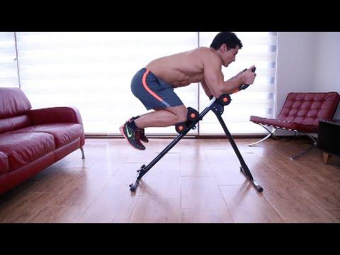 Ab cruncher m quina de ejercicios bodytone falabella tv for Maquinas de ejercicios