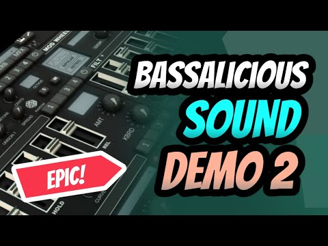BASSalicious 2.0   400 Presets   458 New Sounds - Ultimate Synth Bass Plugin