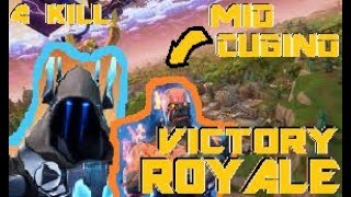 Fortnite Duo-Royal Victory between Ice and Fire! (W Flame)
